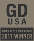 GD USA American Web Design Award 2017 Winner